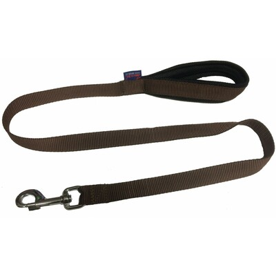 Leash with padded handle